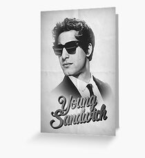 YOUNG SANDWICH Greeting Card