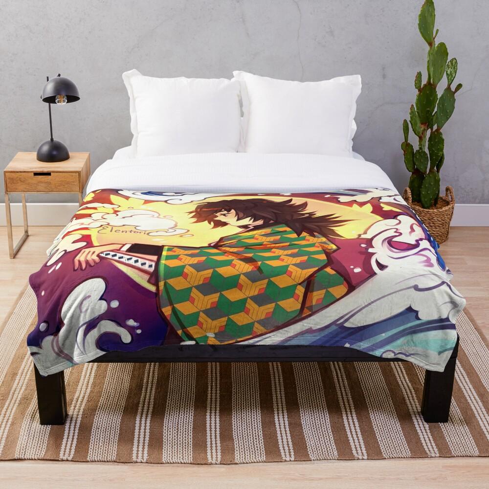 Giyuu Throw Blanket