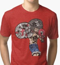 One Piece doodle without background Tri-blend T-Shirt