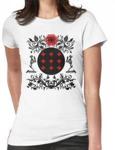 Occult theme  Womens Fitted T-Shirt
