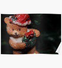 Christmas teddybear ♡ Poster