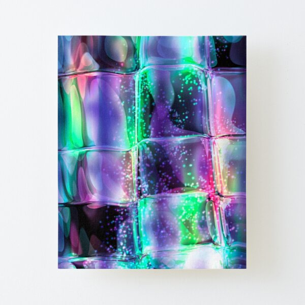 Space^3 Canvas Mounted Print