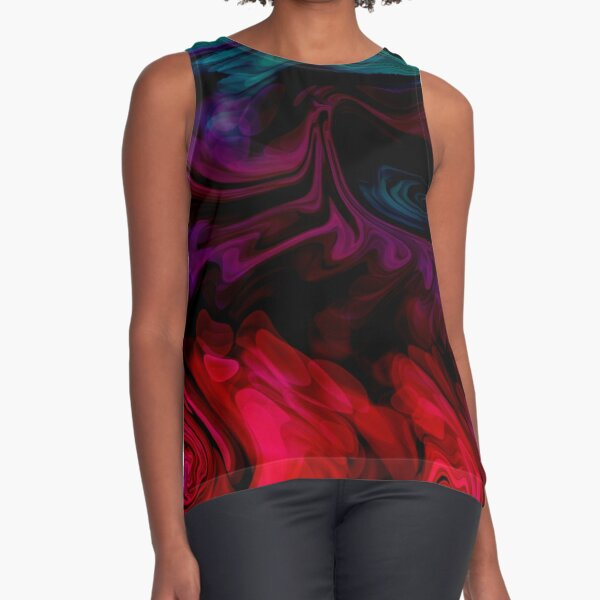 Turmoil Sleeveless Top