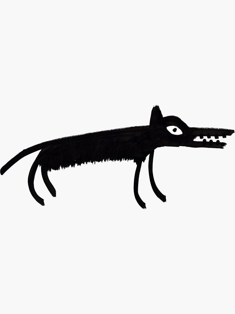 Dog Sticker by stevexoh
