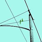 Love Birds Geometry by RichCaspian