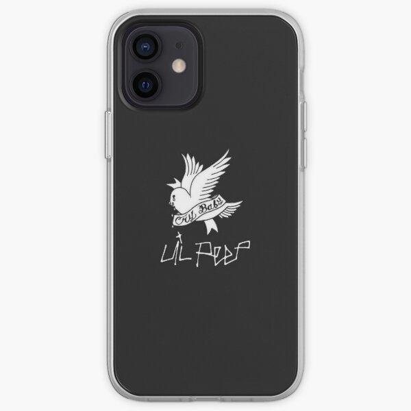 Lil Peep Cry Baby bird tattoo original design iPhone Soft Case
