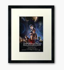 Time Wars - Return of the Doctors Framed Print