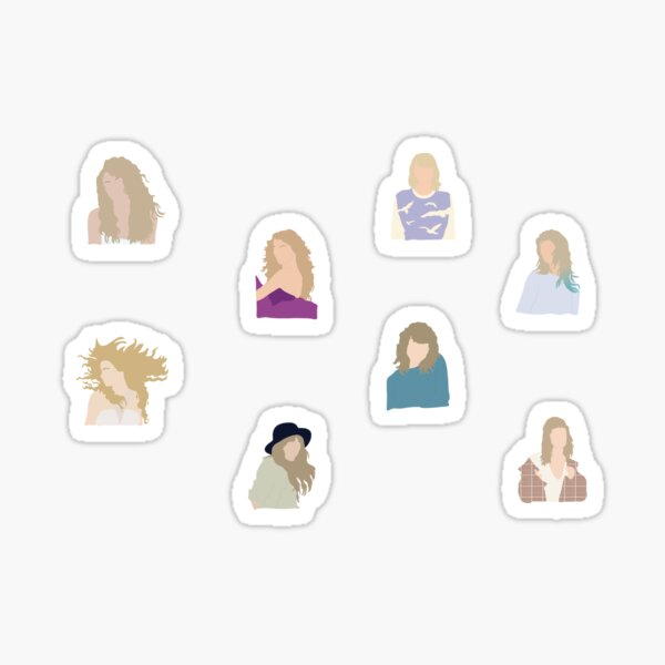 Taylor Era Stickers Sticker