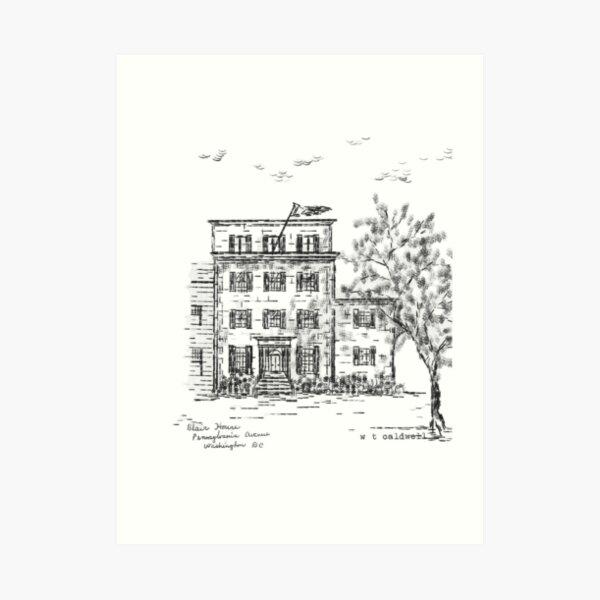 TEC - Blair House Art Print