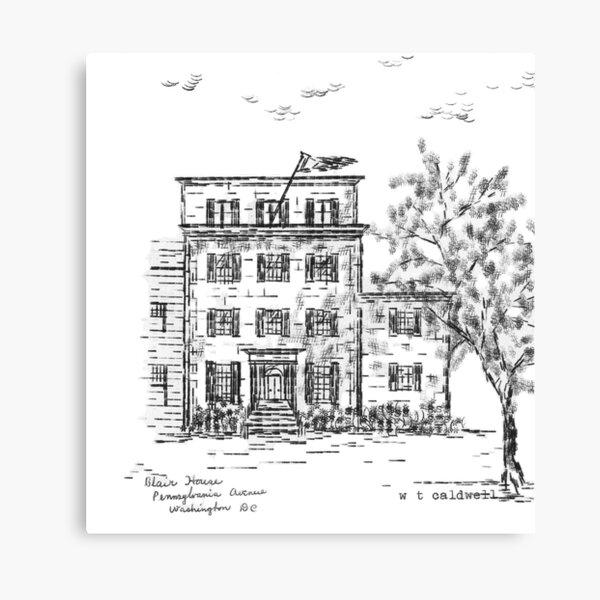 TEC - Blair House Canvas Print