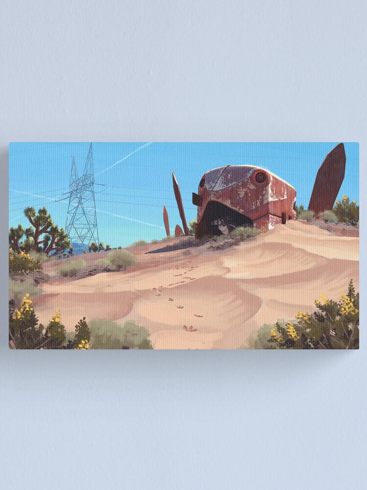 Alternate view of Mojave Metal III Canvas Print