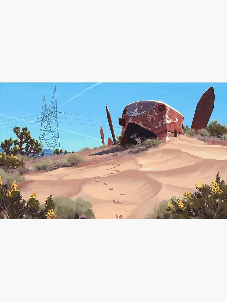Mojave Metal III by simonstalenhag