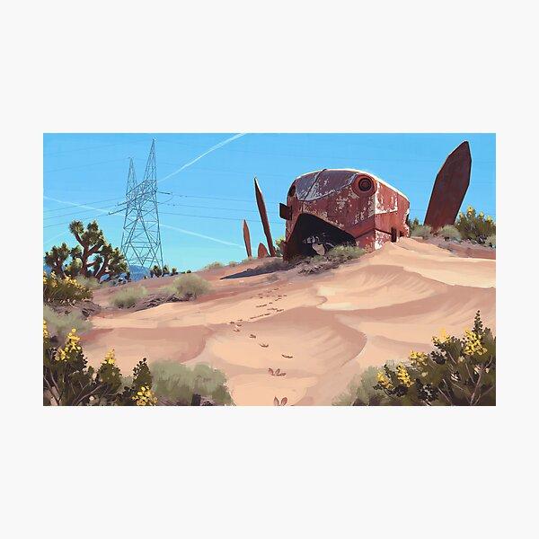 Mojave Metal III Photographic Print