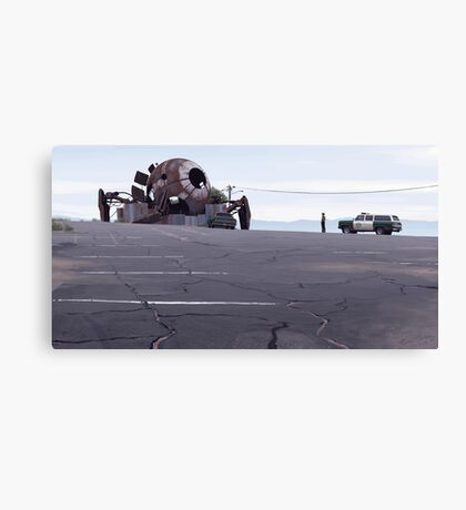 Mojave Metal IV Canvas Print