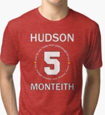 Cory Monteith Tribute - White Tri-blend T-Shirt