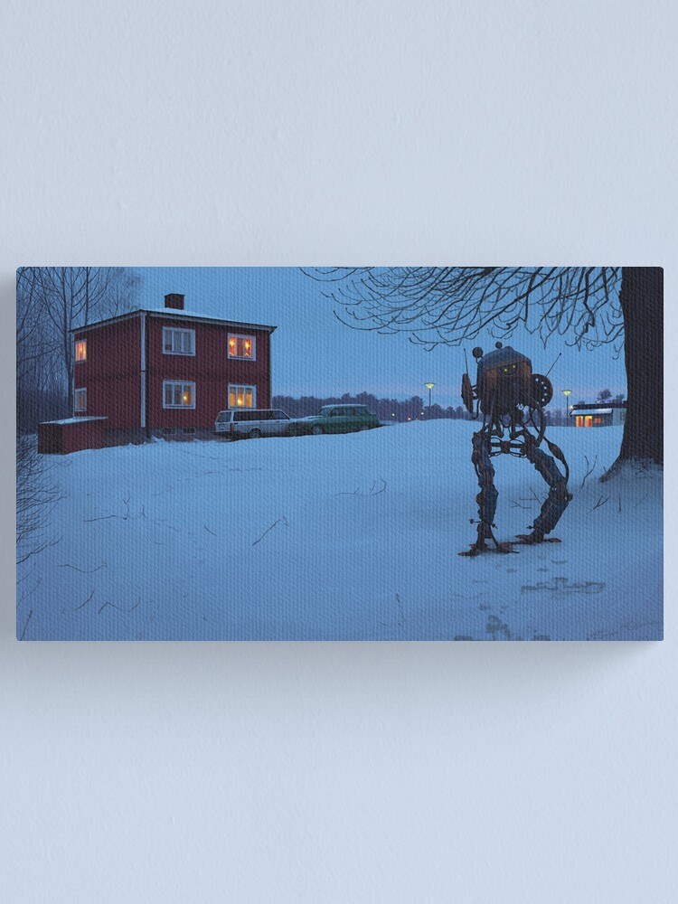 Alternate view of Ett Bedårande Barn Av Sin Tid Canvas Print