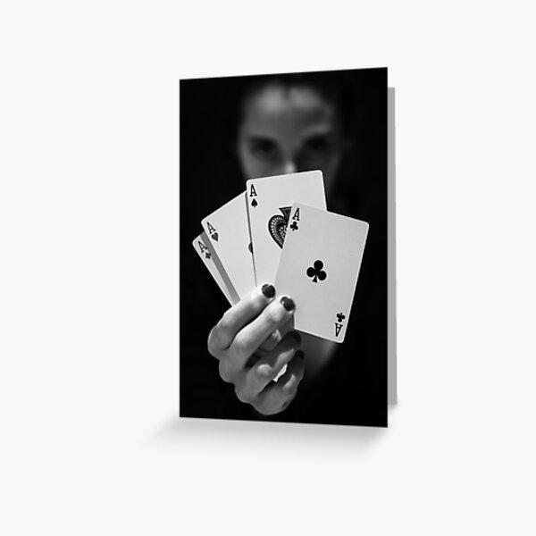 Poker Tarjetas de felicitación