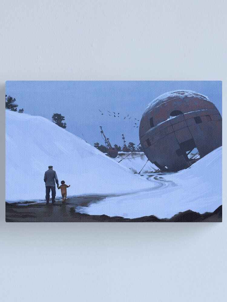 Alternate view of Nordiska Gobi Canvas Print