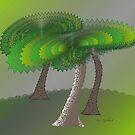 Green Scene by IrisGelbart