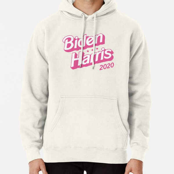Biden Harris Pink 2020 USA Election Funny Pullover Hoodie