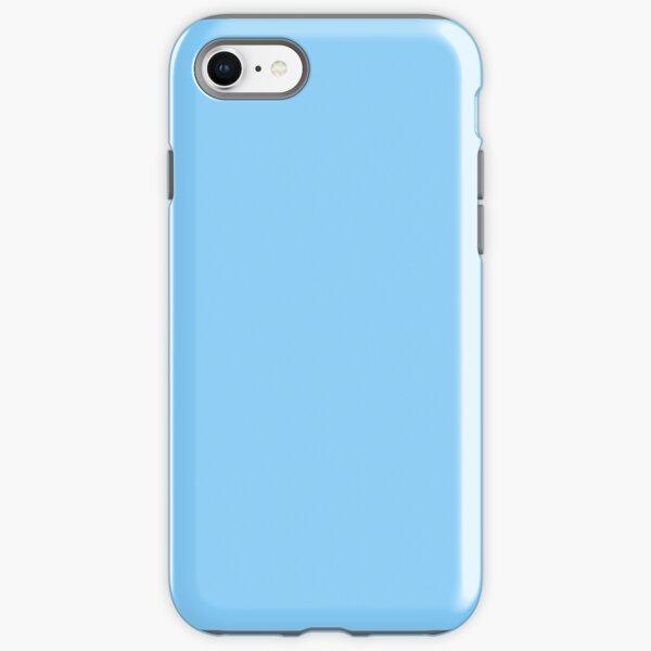 PURE COLOR-Light Sky Blue iPhone Tough Case