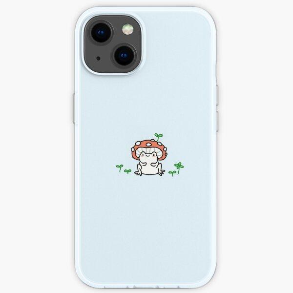 mushroom frog iPhone Soft Case