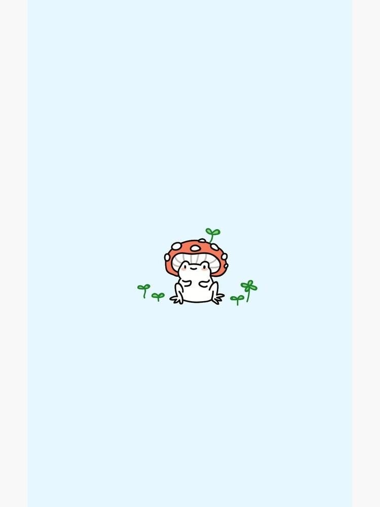 mushroom frog by TeaBag114