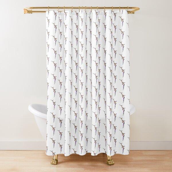 Fractal Weedy Seadragon Shower Curtain
