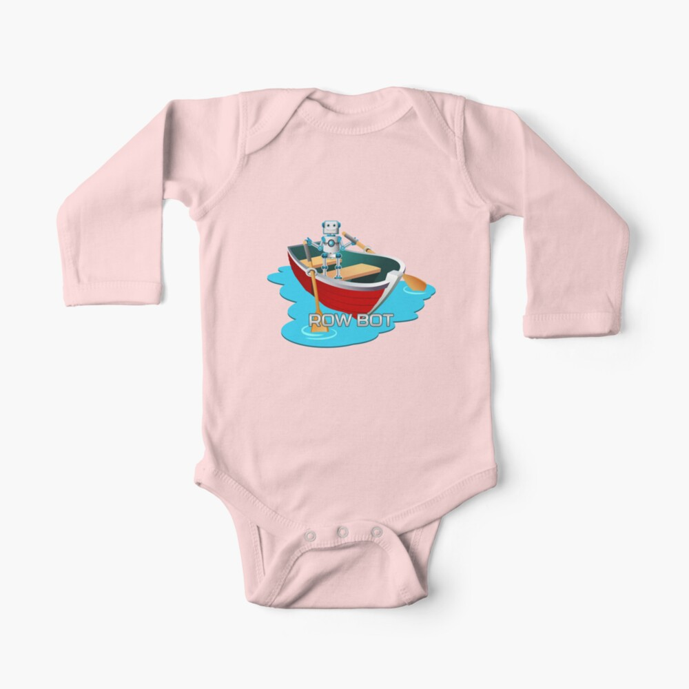 Row Bot. Baby One-Piece