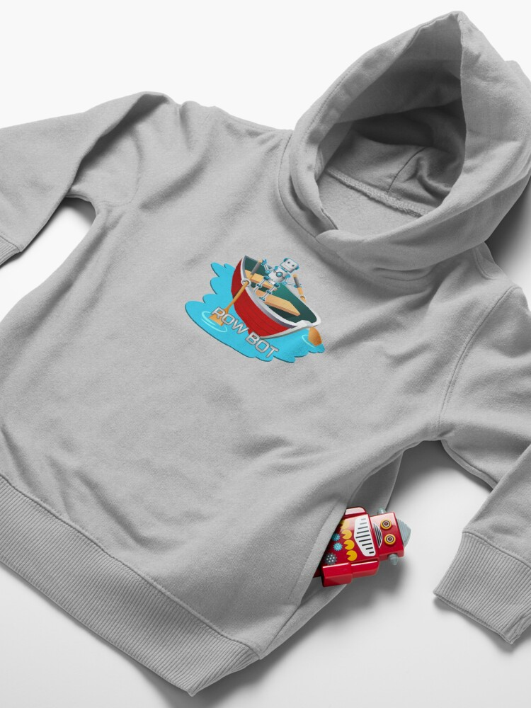 Alternate view of Row Bot. Toddler Pullover Hoodie