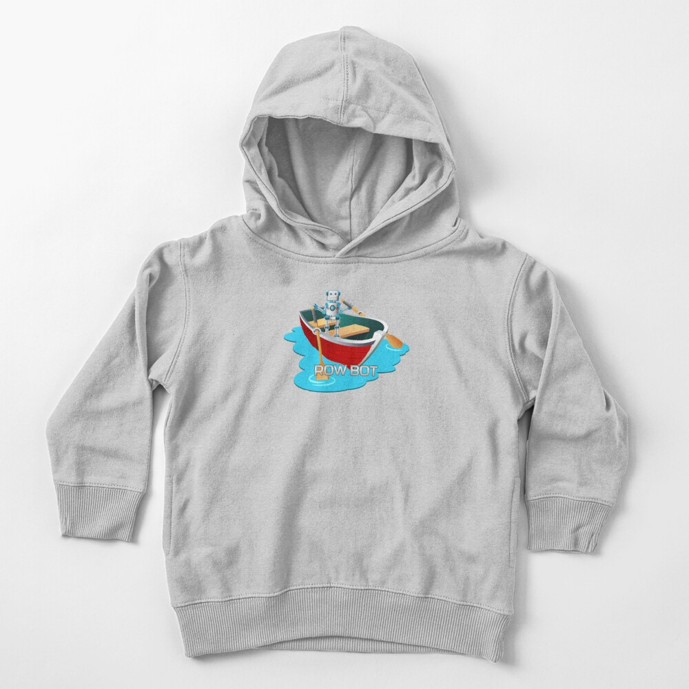Row Bot. Toddler Pullover Hoodie