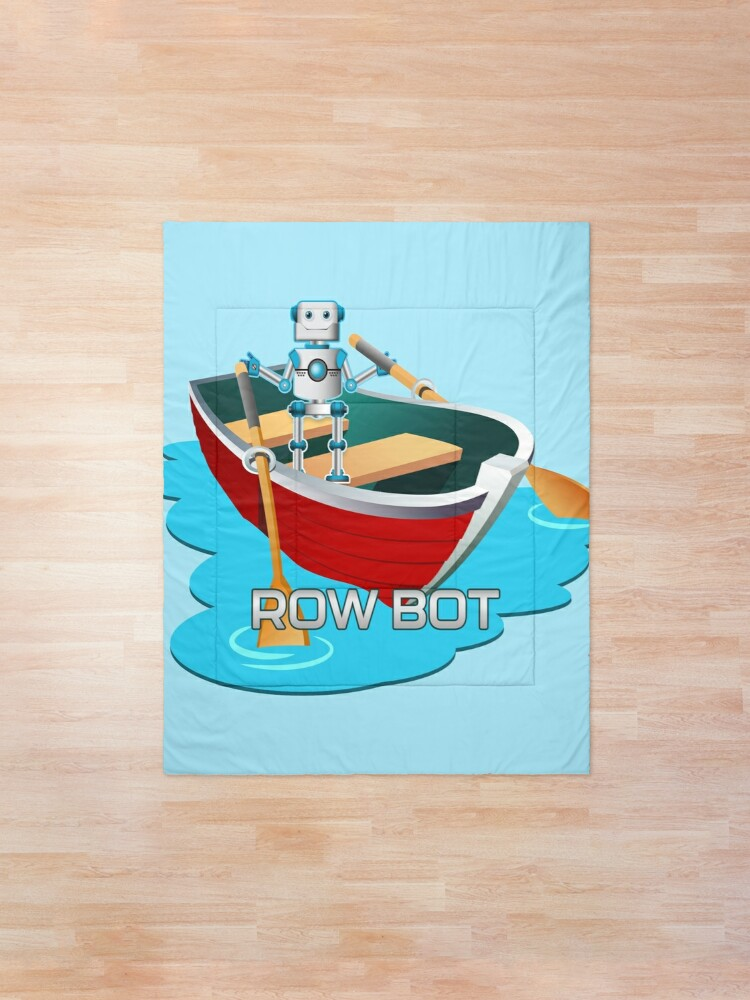 Alternate view of Row Bot. Comforter