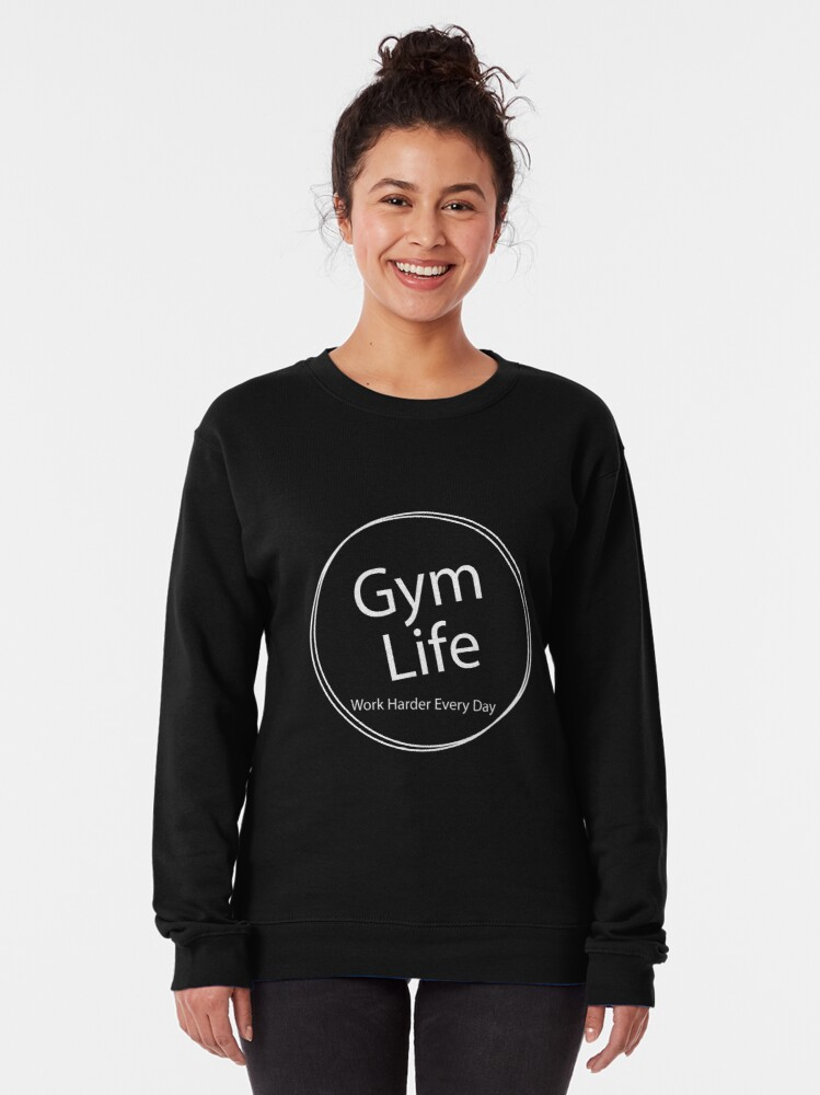Alternate view of Gym Life Lite Pullover Sweatshirt