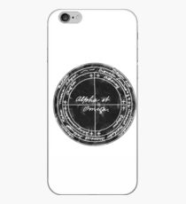 The Pentacle of Saturn iPhone Case