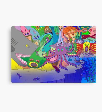 The Drop-off Canvas Print