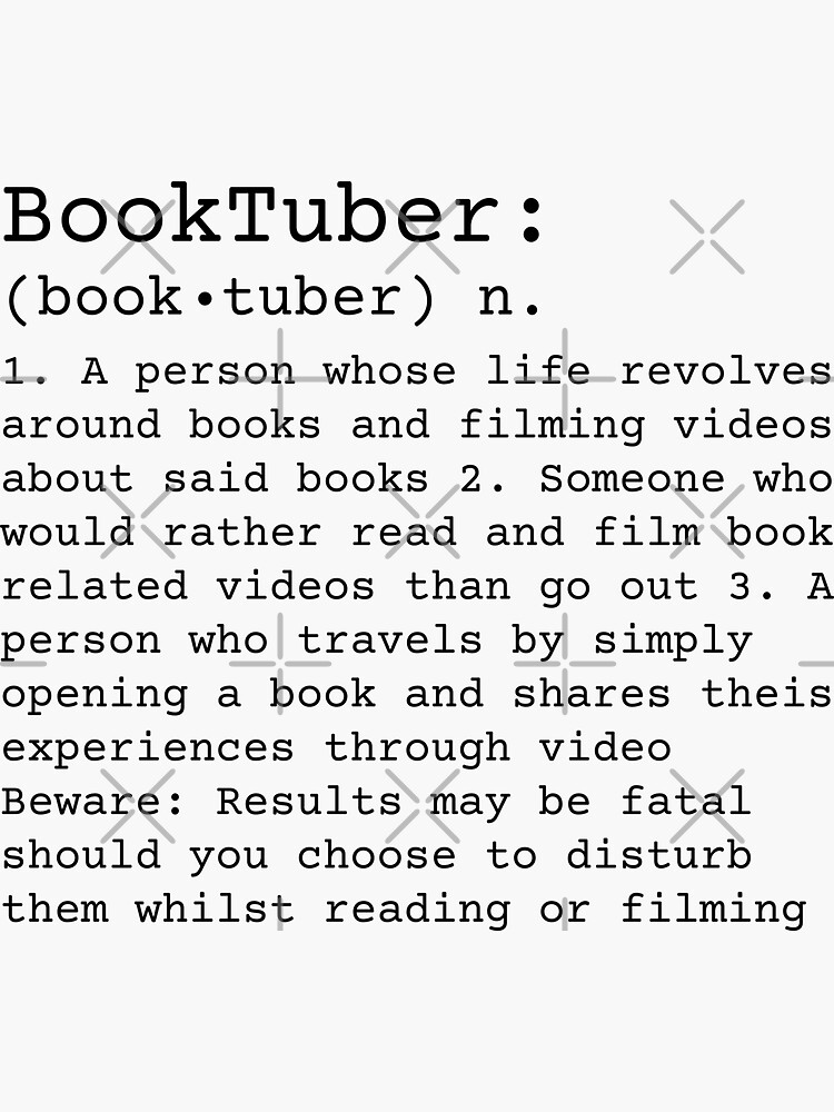 BookTuber Definition  by chanzds
