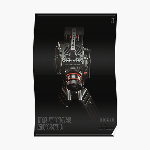 Fully Rigged - Darkroom - Top View Poster