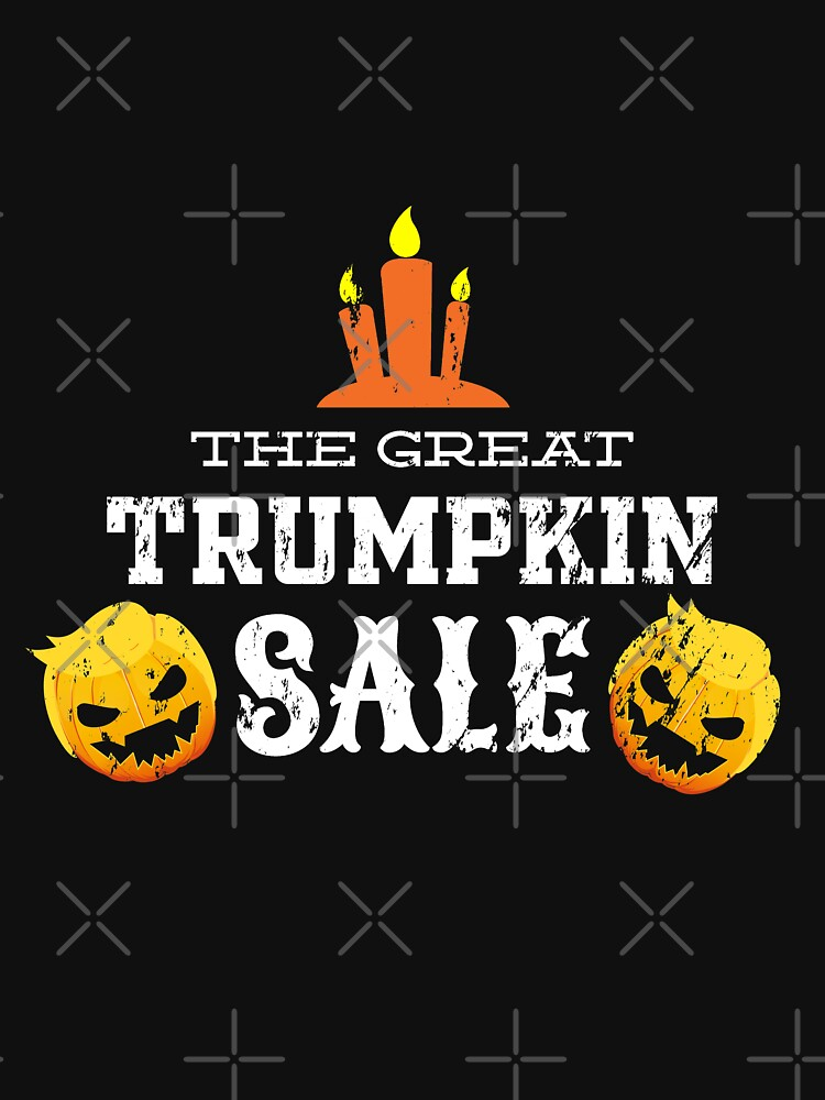 Halloween The Great Trumpkin Sale Grunge by NextLVLShirts