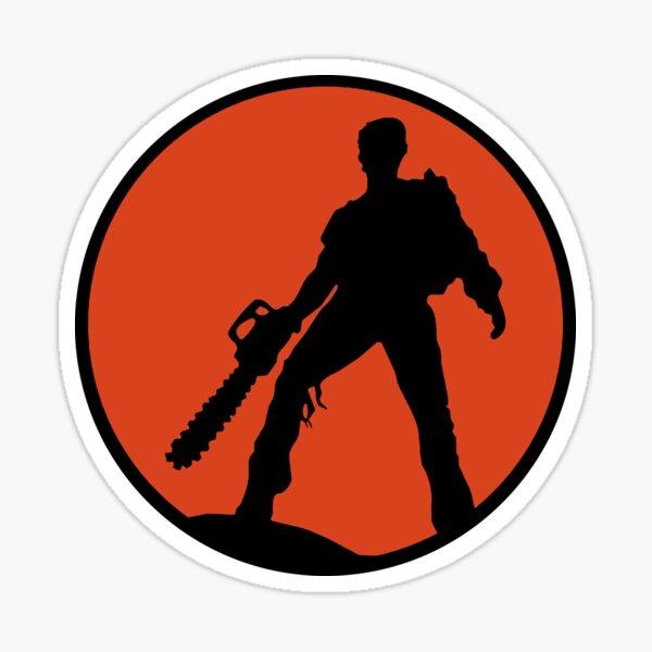 Ash vs The Evil Dead (Red) Sticker