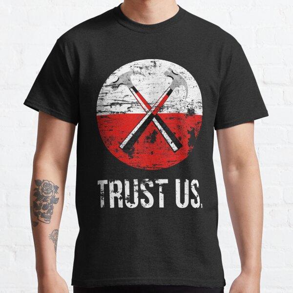 Pink Floyd TRUST US usé T-shirt classique