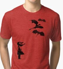 Dragons Will Be Dragons Tri-blend T-Shirt