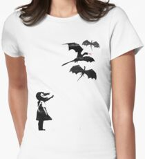 Dragons Will Be Dragons Women's Fitted T-Shirt