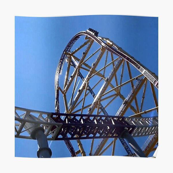 Top Hat Dragster Poster