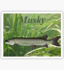 MUSKY T-SHIRT Sticker