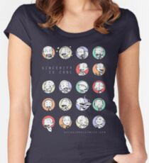 Sincerity is cool Women's Fitted Scoop T-Shirt