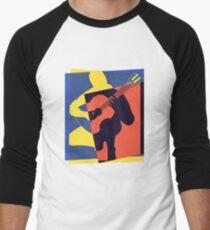 Pop Art Acoustic Guitar Player T-Shirt