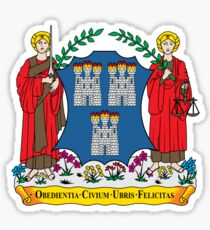 Coat of Arms of Dublin Sticker