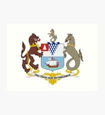 Coat of Arms of Belfast  Art Print