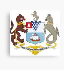 Coat of Arms of Belfast  Metal Print