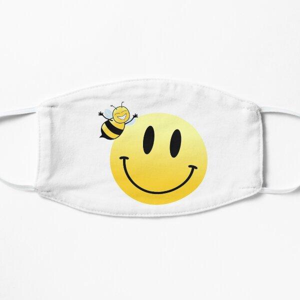 Bee Happy! Flat Mask